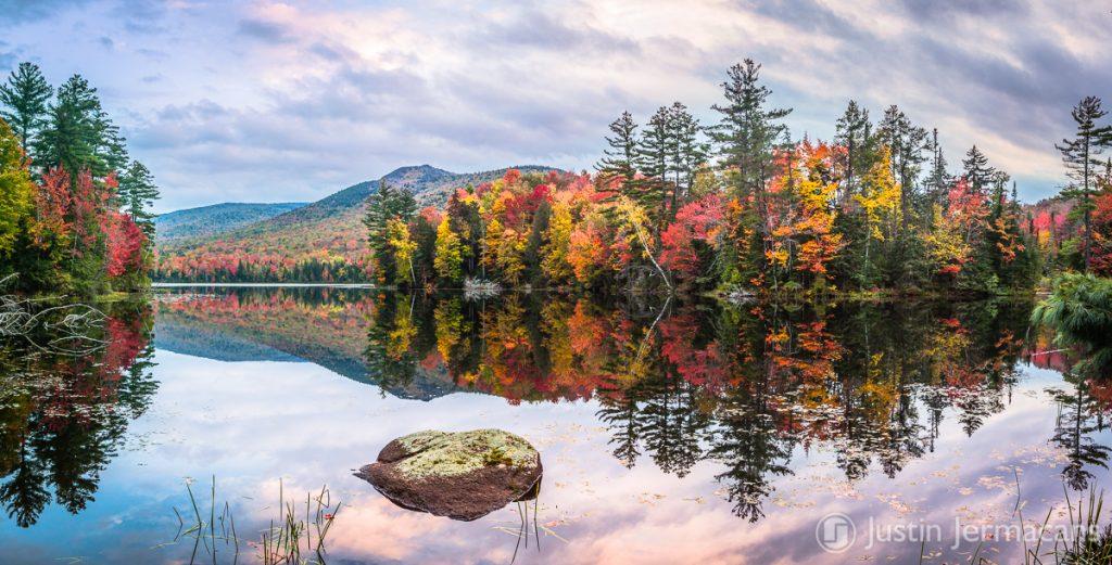Fall Foliage at Lefferts Pond, VT