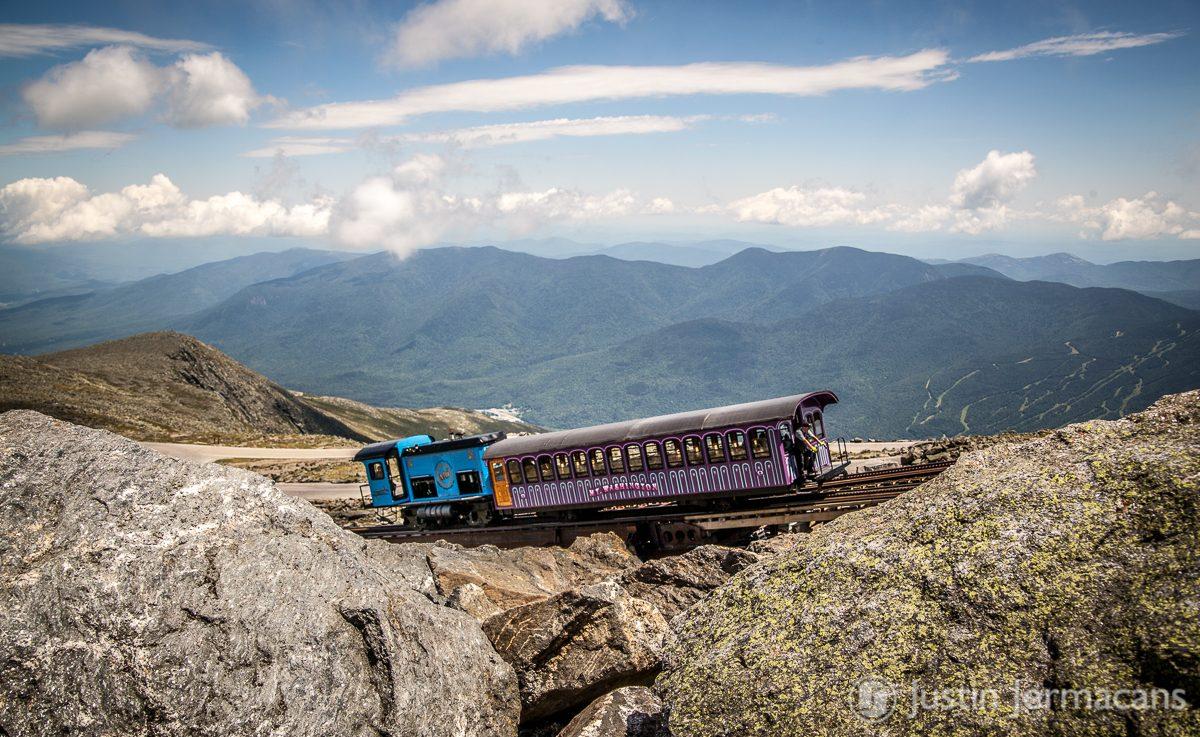 Cog Railway - Mount Washington, NH