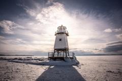 Frozen Lake Champlain 3/3/19 - Burlington, VT