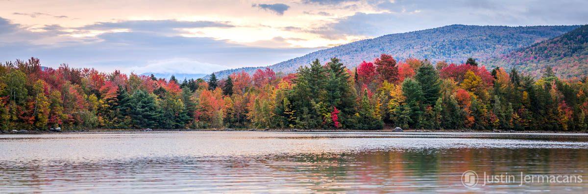 Fall morning kayak out on Chittenden Reservoir, VT