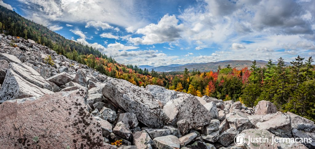 Fall Foliage at White Rocks National Recreation Area, VT