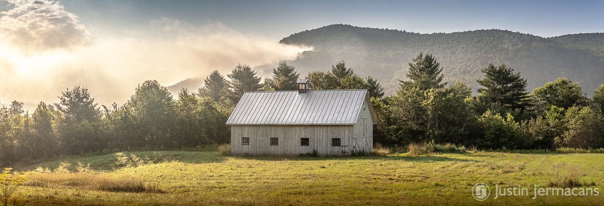 Morning Fog - Pittsfield, VT