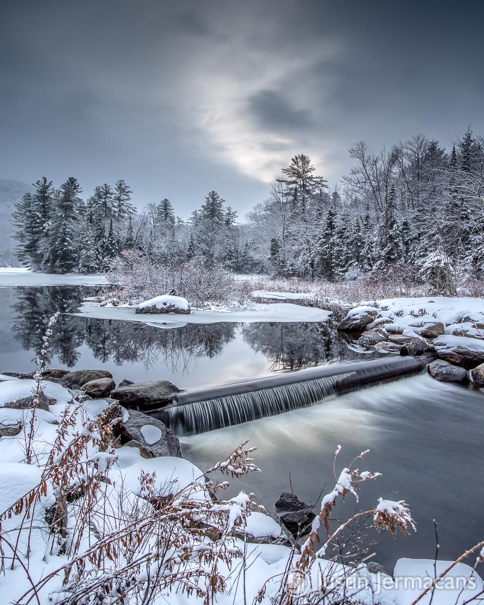 Fresh Snow - Lefferts Pond, VT