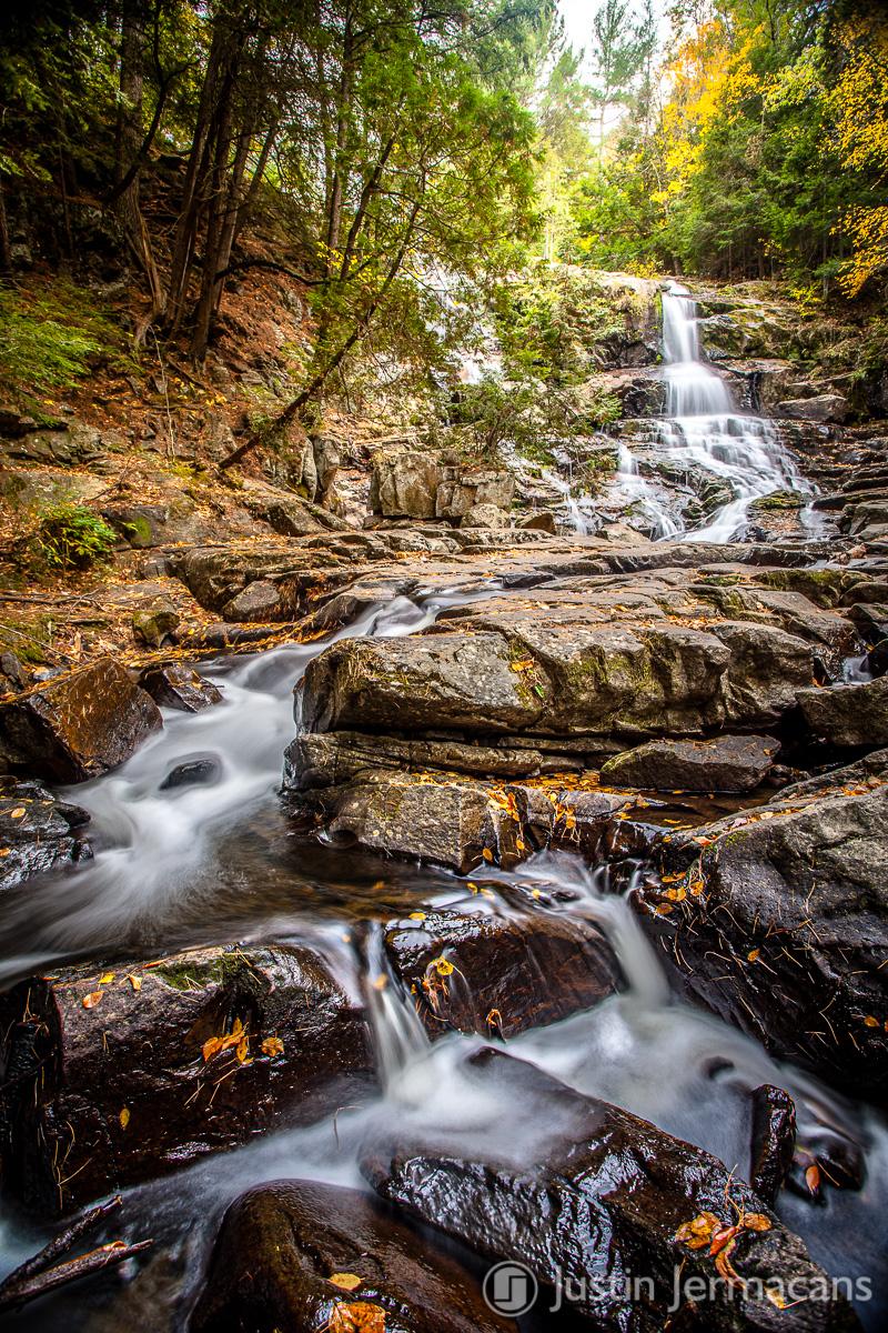 Fall Foliage 10/16/17 - Shelving Rock Falls, NY